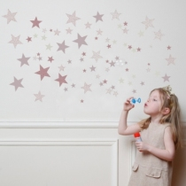 Stickers-etoiles-roses-mauves-artforkids