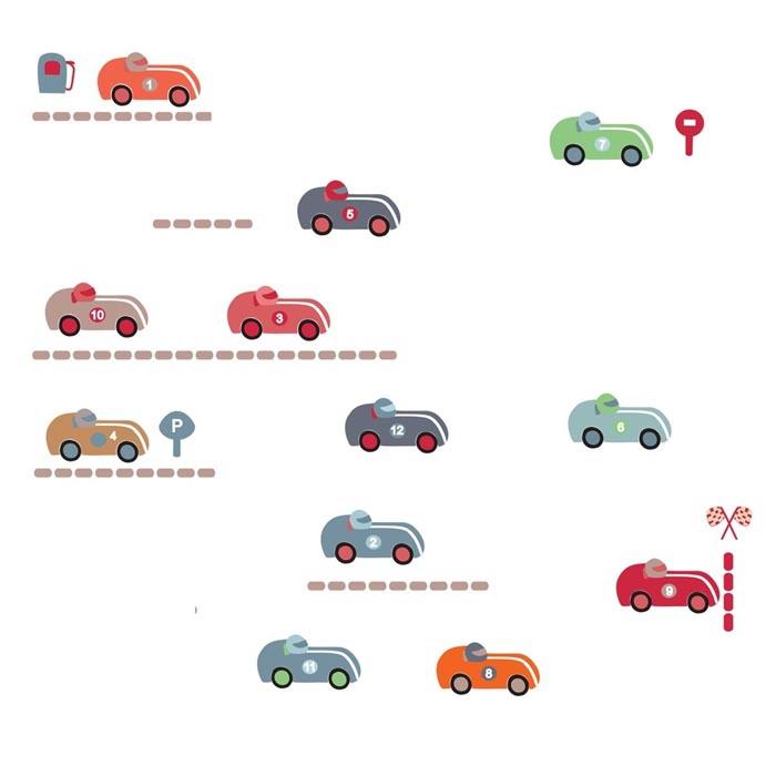 Sticker-voitures-de-course-artforkids