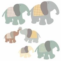 Sticker-famille-elephant-artforkids