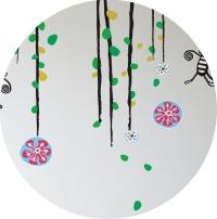 sticker-mural-fleur