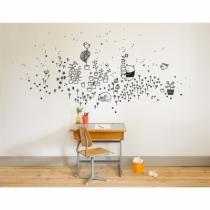 sticker-mural-pour-enfant-jardin-de-printemps