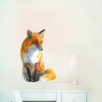 Sticker-renard-chambre-enfant-chocovenyl