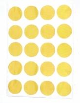 chocovenyl-sticker-rond-jaune