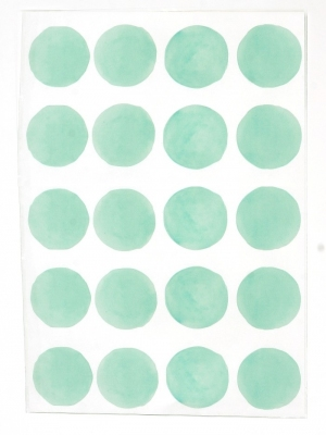 sticker-rond-turquoise-pastel