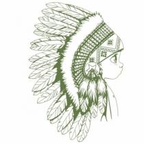 Sticker-vert-grand-indien-acte-deco