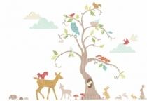 Sticker-mural-arbre