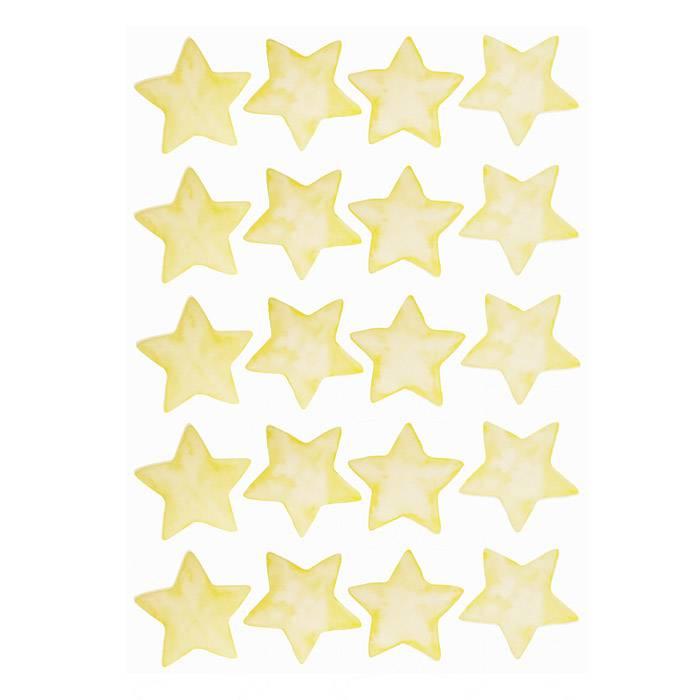 deco-chambre-enfant-sticker-etoile-jaune