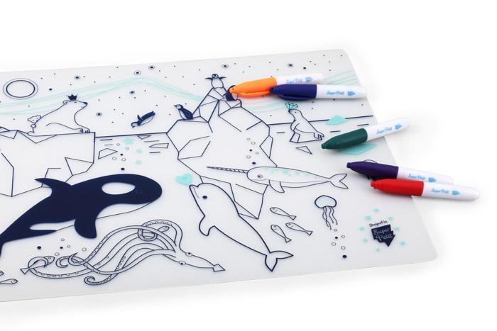 set-table-coloriage-banquise-super-petit