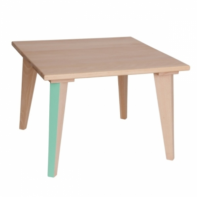 table basse mini boudoir menthe. Black Bedroom Furniture Sets. Home Design Ideas
