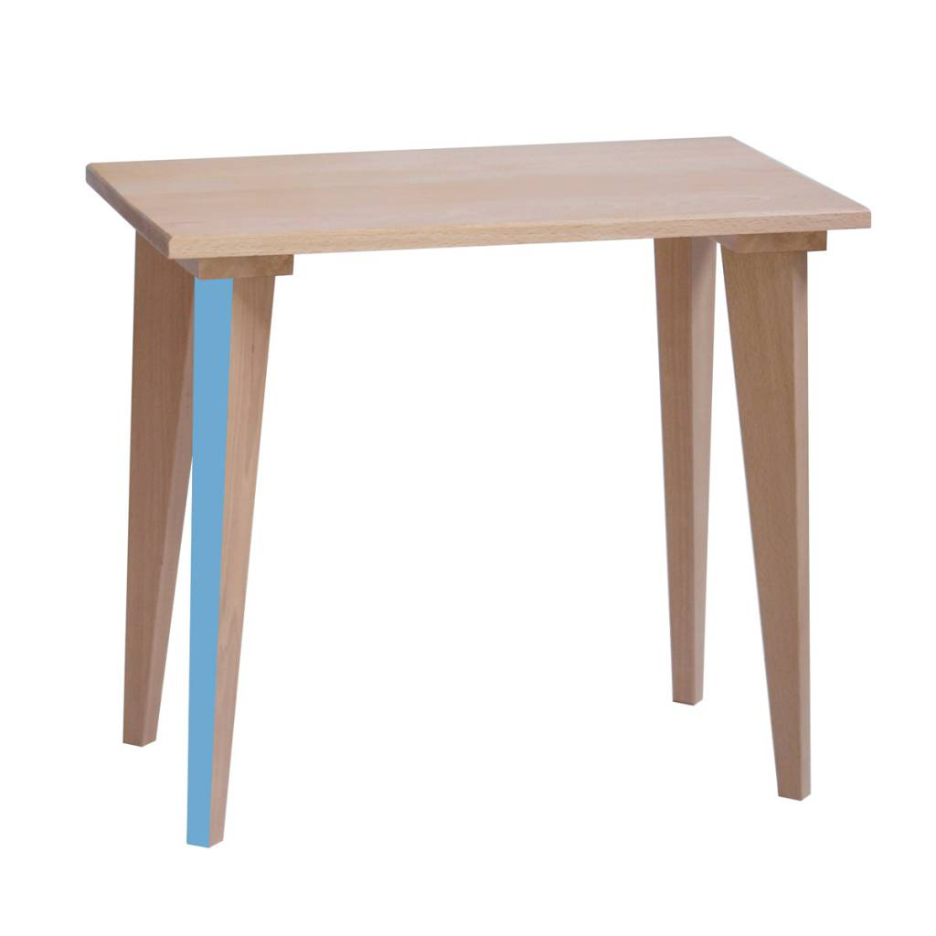 Table écolier Elémentaire - Bleu verditer