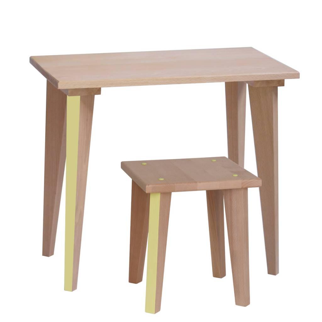 Table écolier Maternelle - Lemon