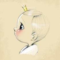 Little-king-tableau-sur-toile-chambre-enfant