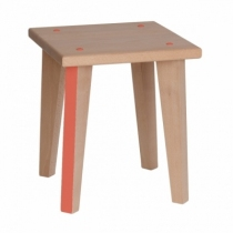Tabouret-point-virgule-orange-paulette-et-sacha