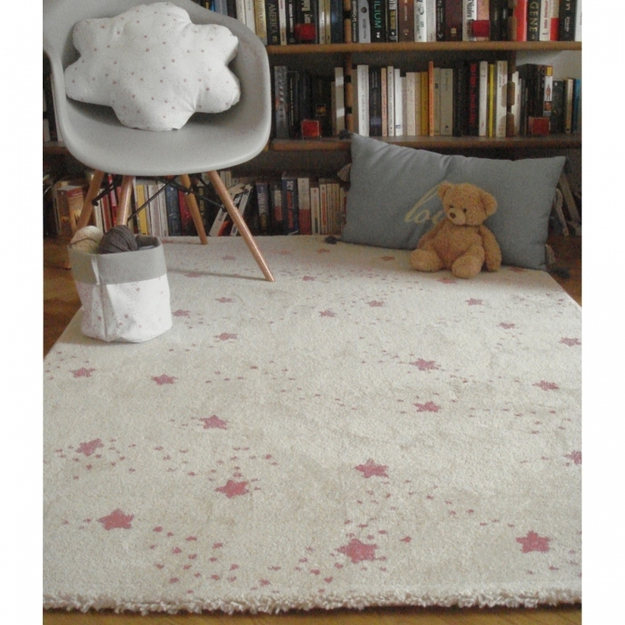 Tapis Constellation Rose