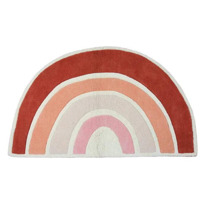 Tapis coton Arc-en-ciel Orange - 120 x 70 cm