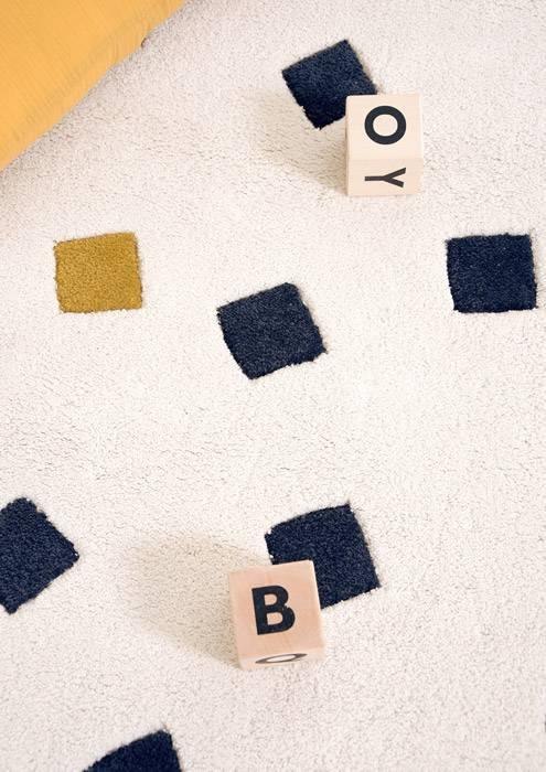 tapis-rond-enfant-motif-geometrique