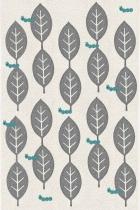 tapis-feuilles-gris-clair-et-bleu-turquoise