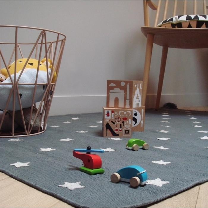 tapis-enfant-etoiles-grises-art-for-kids