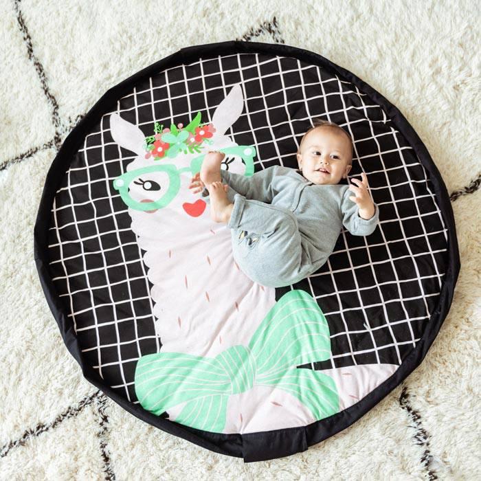 tapis-eveil-cadeau-naissance-play-go-lama