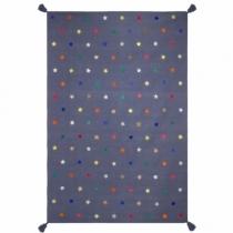 tapis-coton-broderies-cuir-etoiles-multicolores