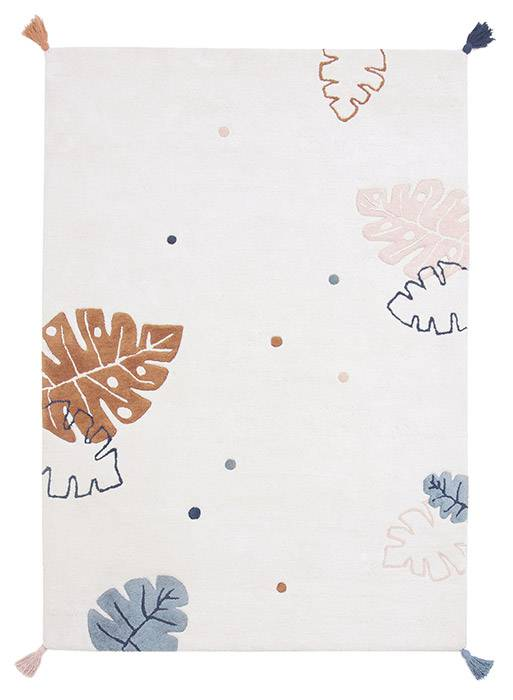 tapis-multicolore-feuilles-monstera-lilipinso