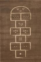 Tapis-marelle-marron-artforkids