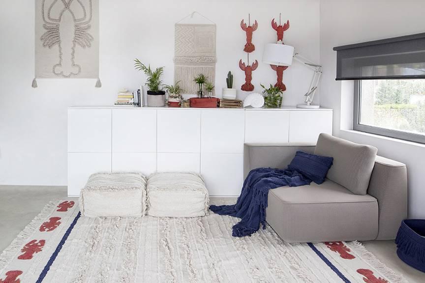 tapis-en-coton-naturel-fabrication-artisanale-homard
