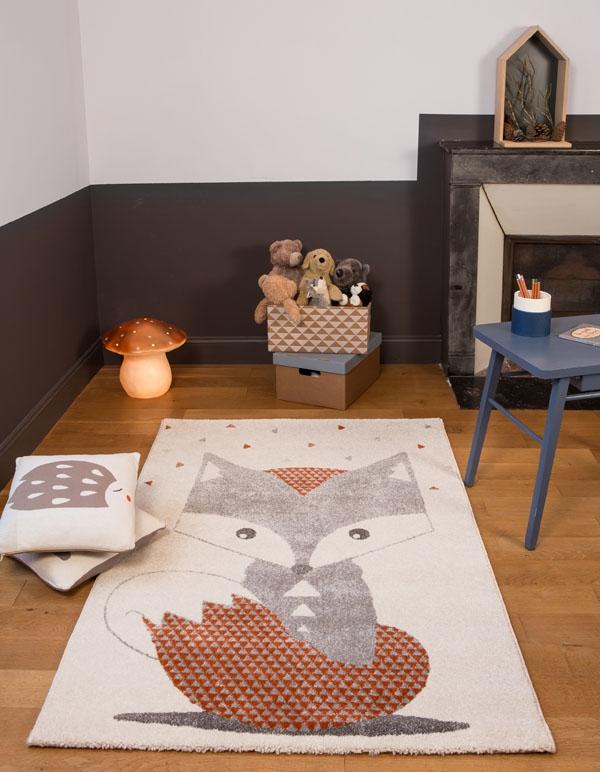 tapis chambre de bb renard - Tapis De Chambre