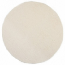 tapis-fourrure-blanche-rond