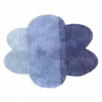 tapis-nuage-degrade-bleu-tissu-main