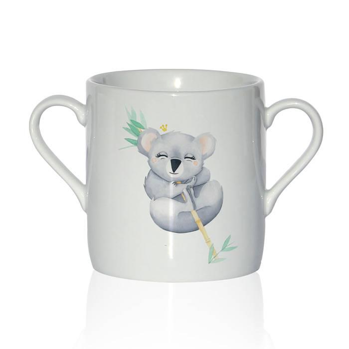 tasse-porcelaine-avec-un-joli-koala