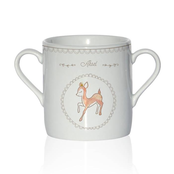 tasser-porcelaine-limoge-dessin-faon
