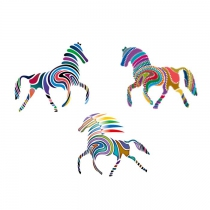 Tatouages-chevaux-multicolores