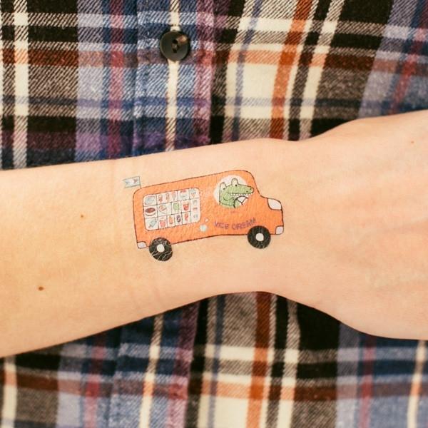 tatouage-camion-de-glace-pour-enfants