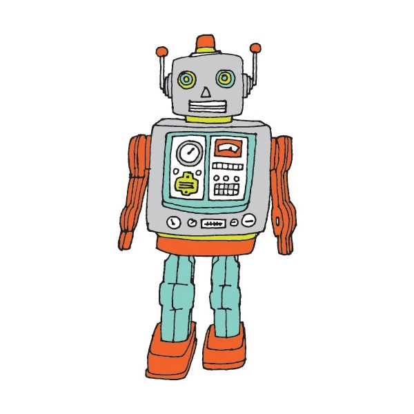 Tatouage-temporaire-robot