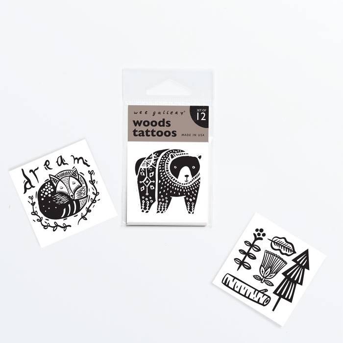 wee-gallery-tatouage-ephemere-foret-noir-et-blanc