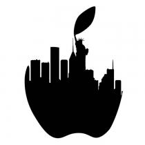 Tatouage S - Big apple