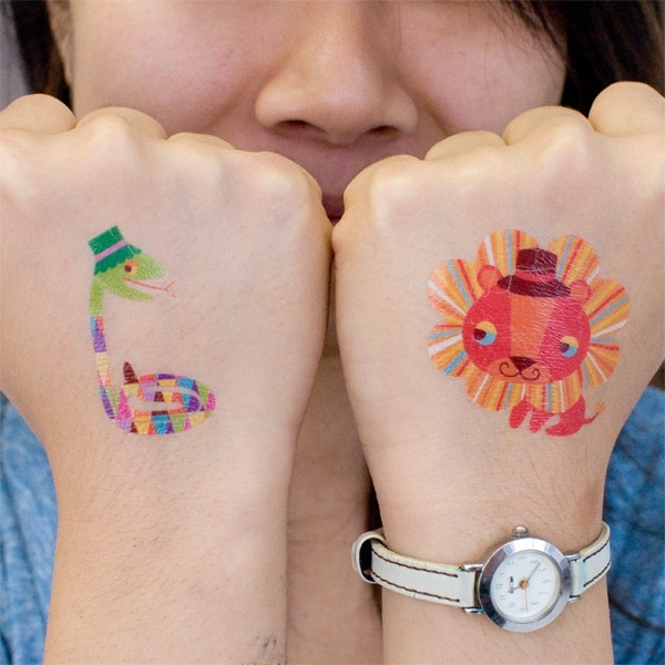 Jolis-tatouages-temporaires-animaux