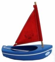 Tirot-bateau-17cm-thonier-bleu