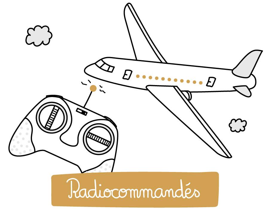 Jouets radiocommandés