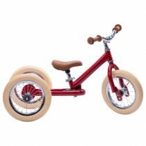 Tricycle-en-metal-rouge-vintage