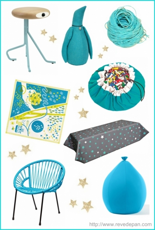 idee-chambre-enfant-turquoise