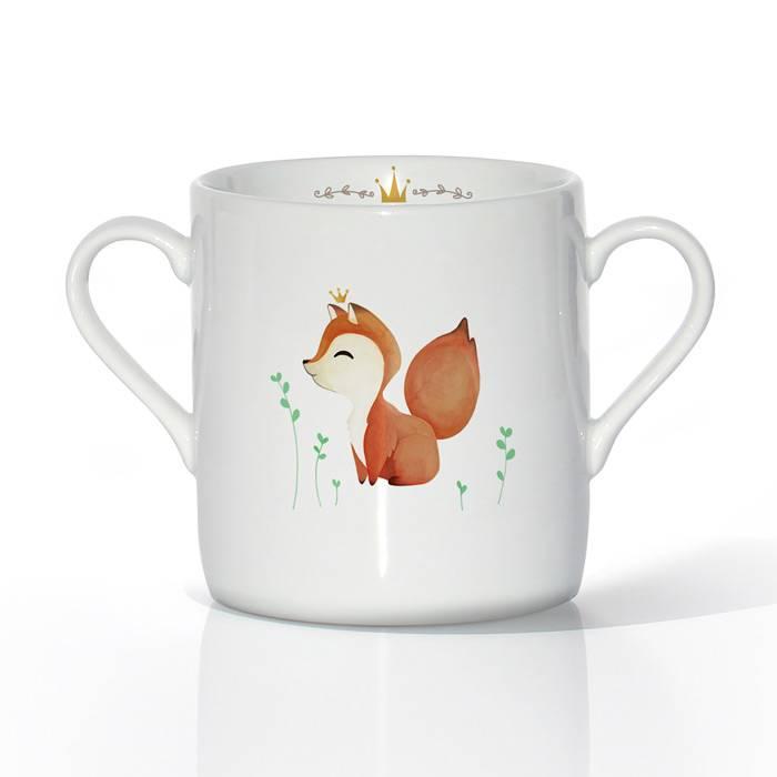 vaisselle-tasse-porcelaine-renardeau