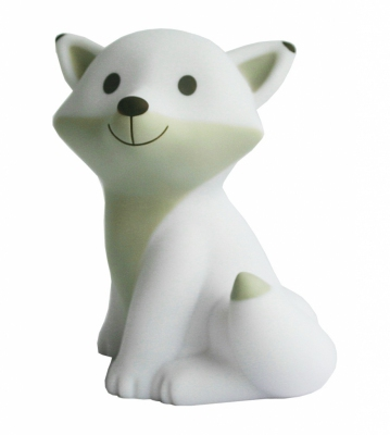 Veilleuse-lampe-renard-blanc