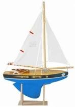 Jouet-en-bois-Tirot-voilier-30-cm-bleu