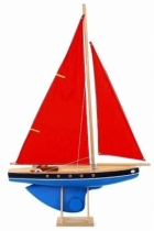 Voilier-coque-rouge-50-cm