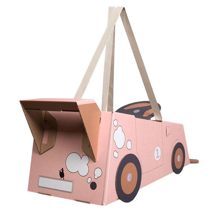 mister-tody-voiture-carton-deguisement-rose
