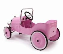 voiture-baghera-pedale-metal-rose