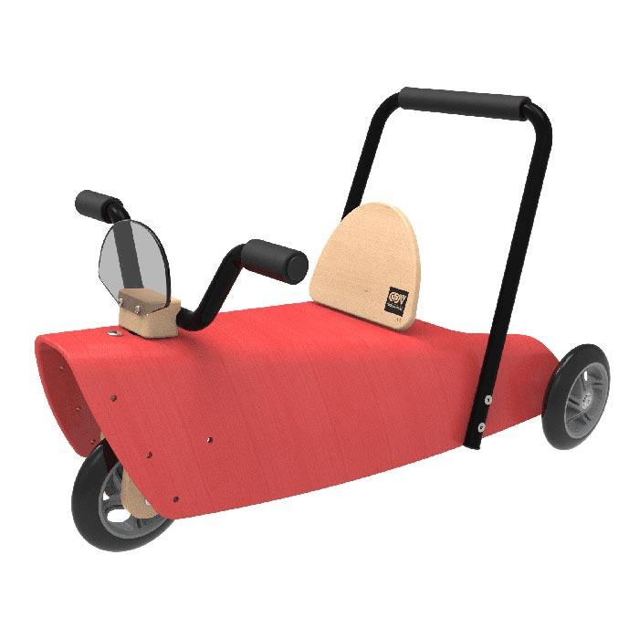 voiture-pedale-chou-du-volant-rouge