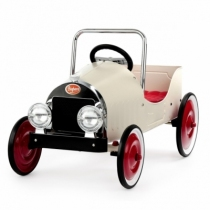 voiture-pedale-metal-baghera-blanche